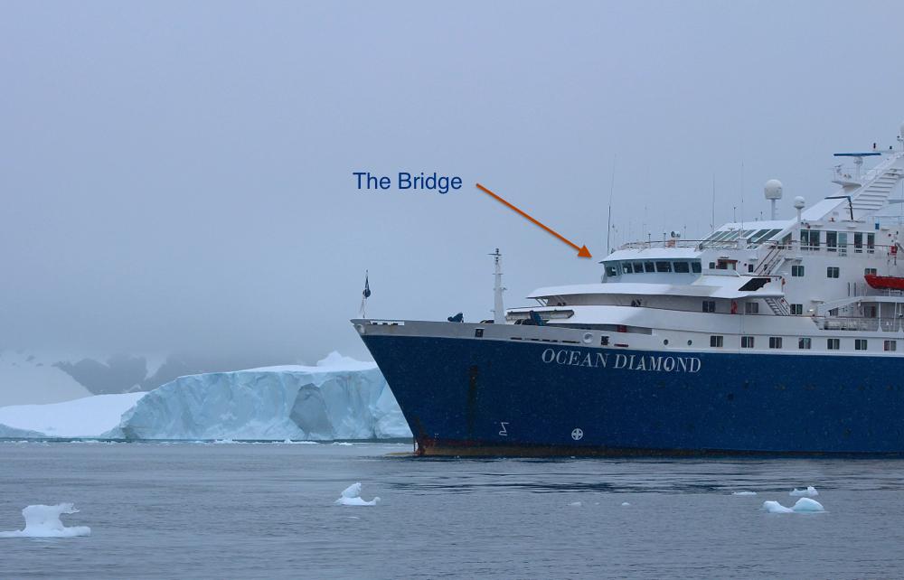 Outside picture of Ocean Diamond bridge
