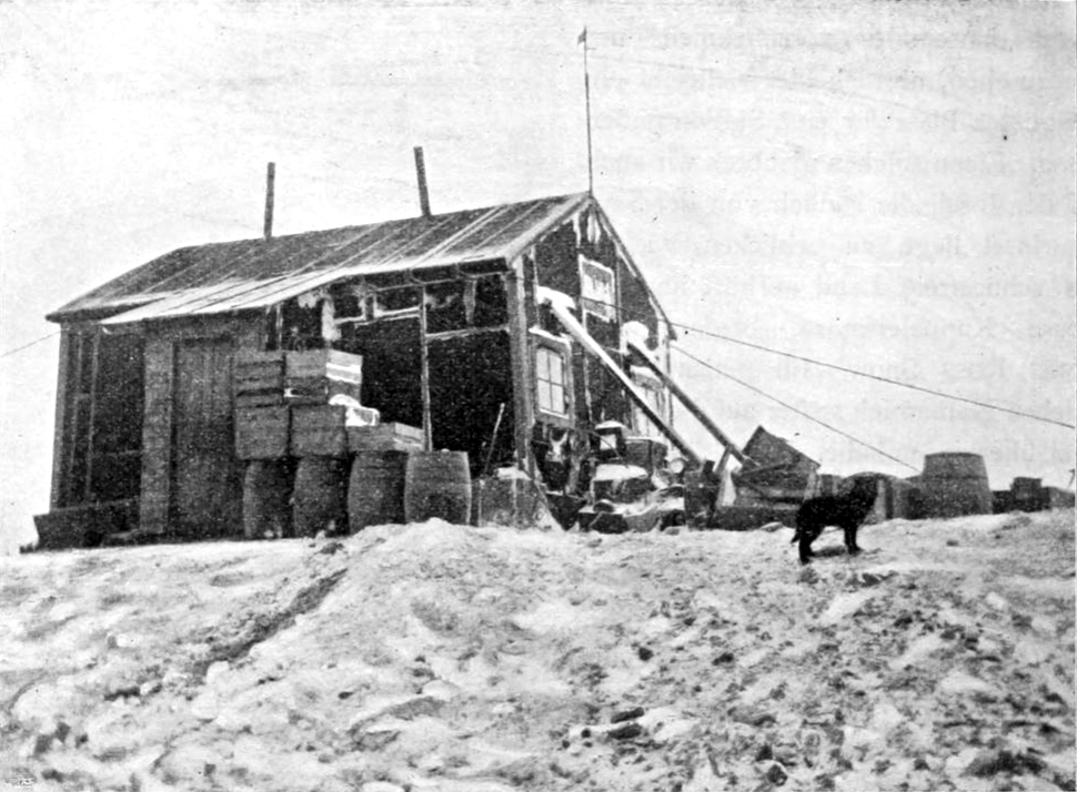 House of the Swedish Antarctic Expedition 1901-1903 on Snow Hill Island, Antarctic. Photo: Otto Nordenskjöld