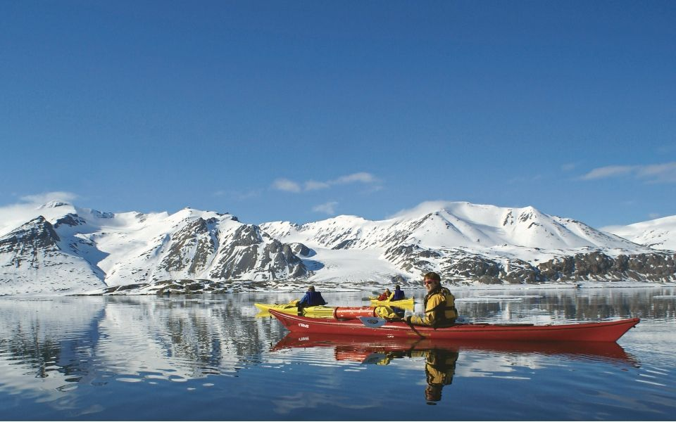 Keith Perry Kayaking in Greenland