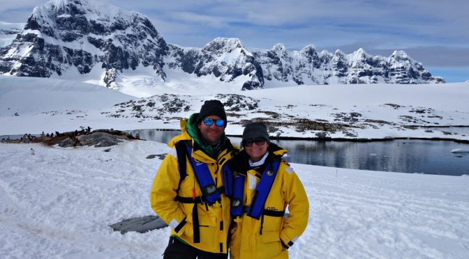 Harry and Audrey explore the Antarctic Peninsula and a nearby penguin colony.