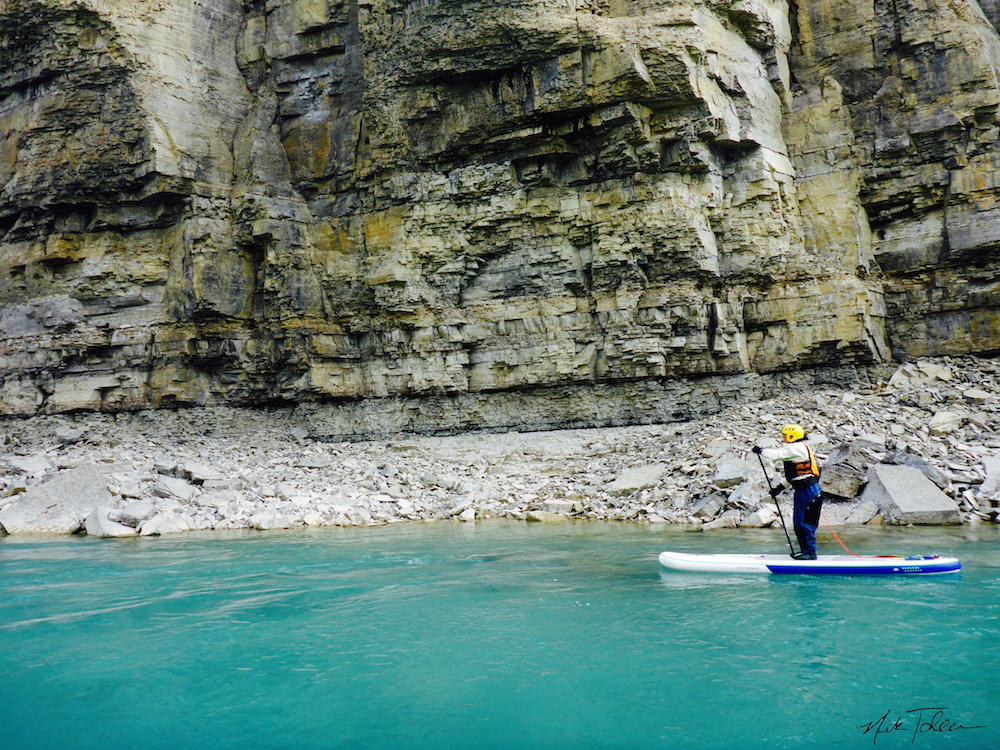 Stand Up Paddleboarding at Arctic Watch
