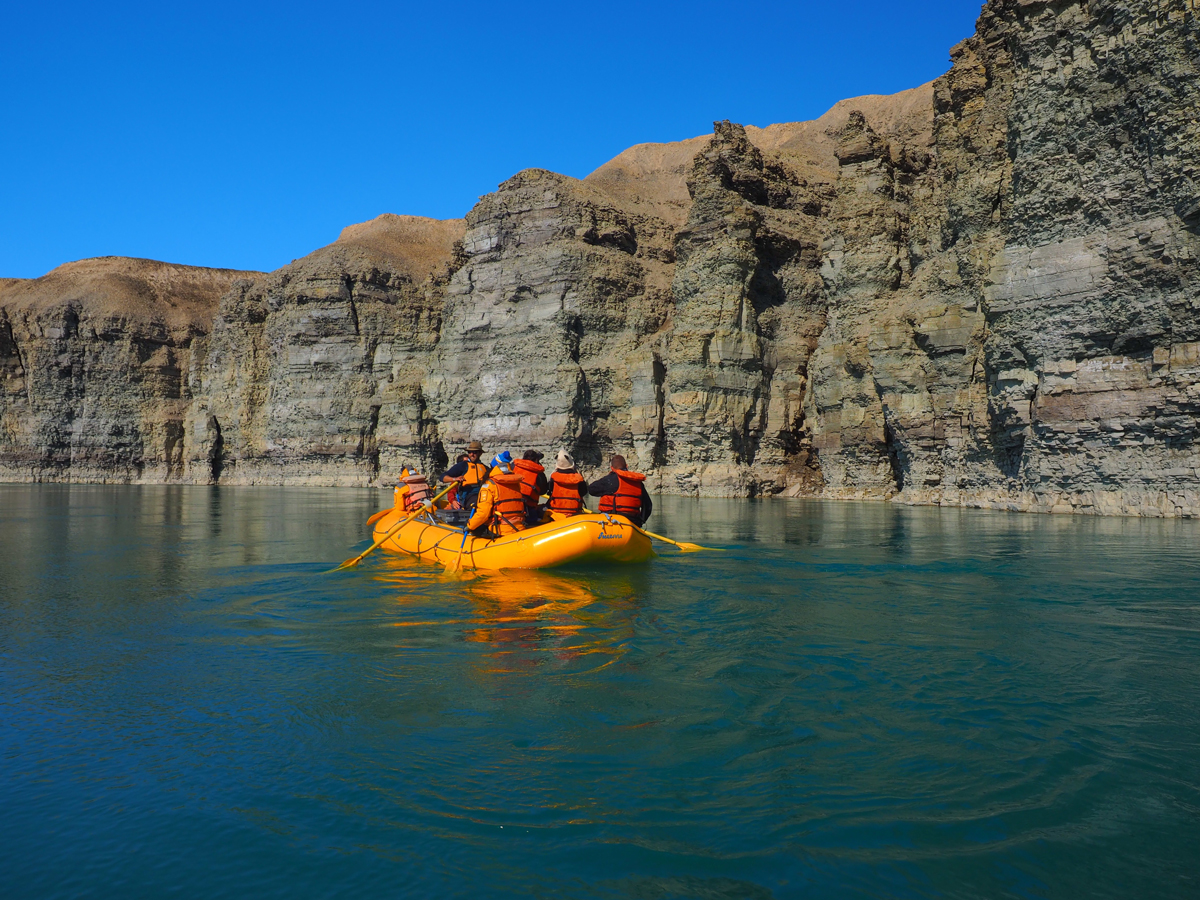 Rafting at Arctic Watch