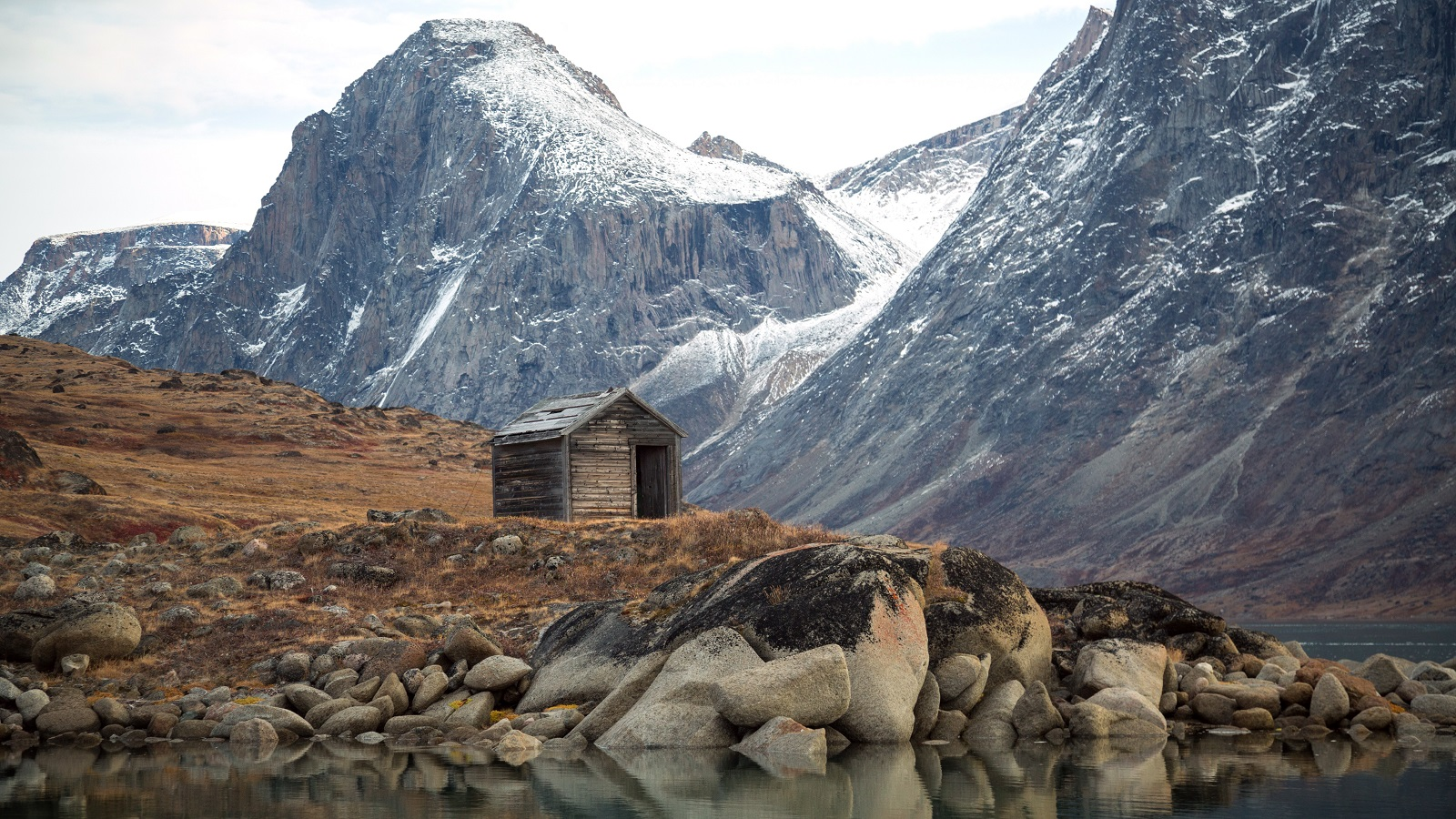 he rugged beauty and the remoteness of Baffin Island