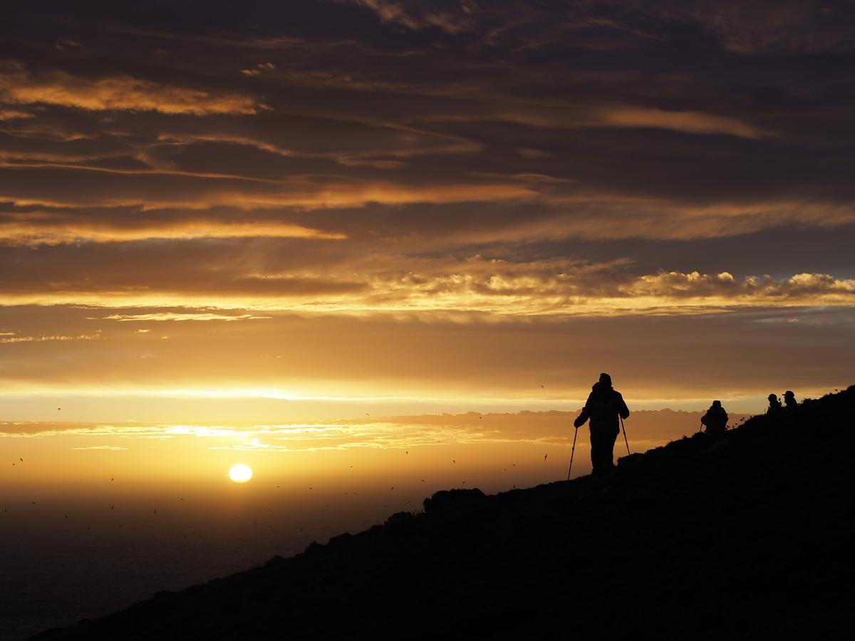 Steeple Jason Sunset - Photo credit: Yukie Hayashi