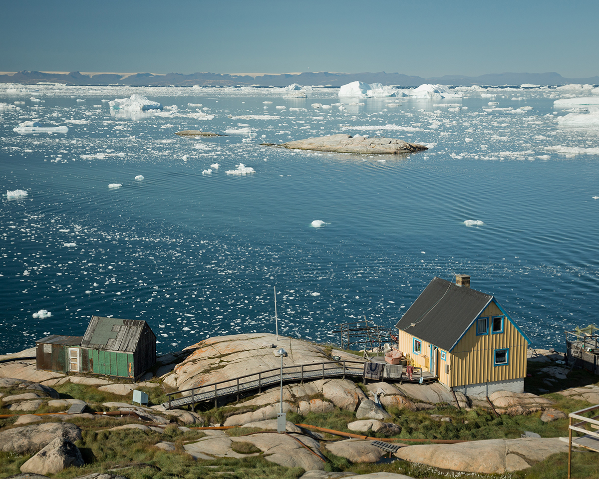 Colorful house in Ilulissat, West Greenland. Photo by Acacia Johnson