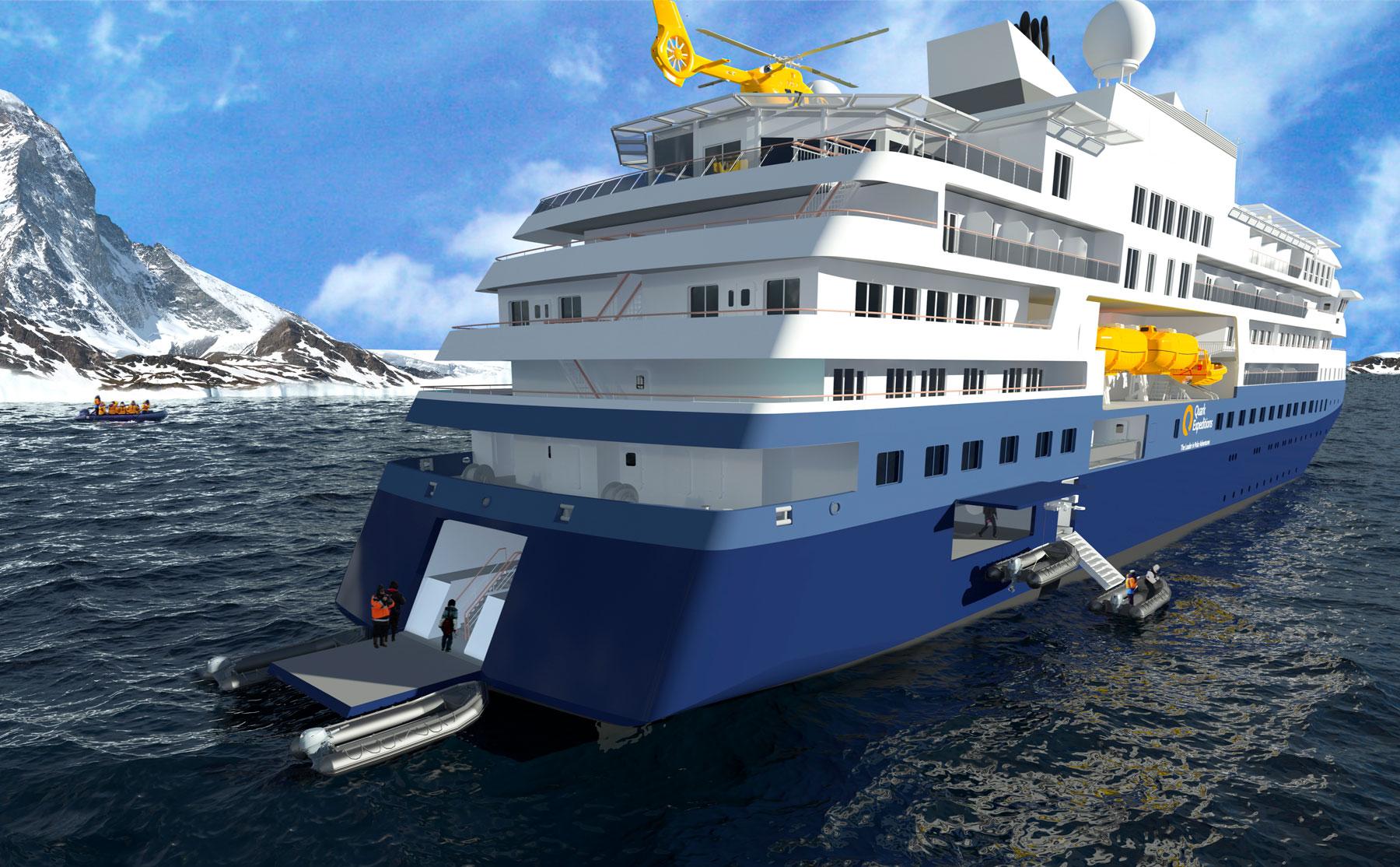 Ship (Ultramarine) rendering from rear