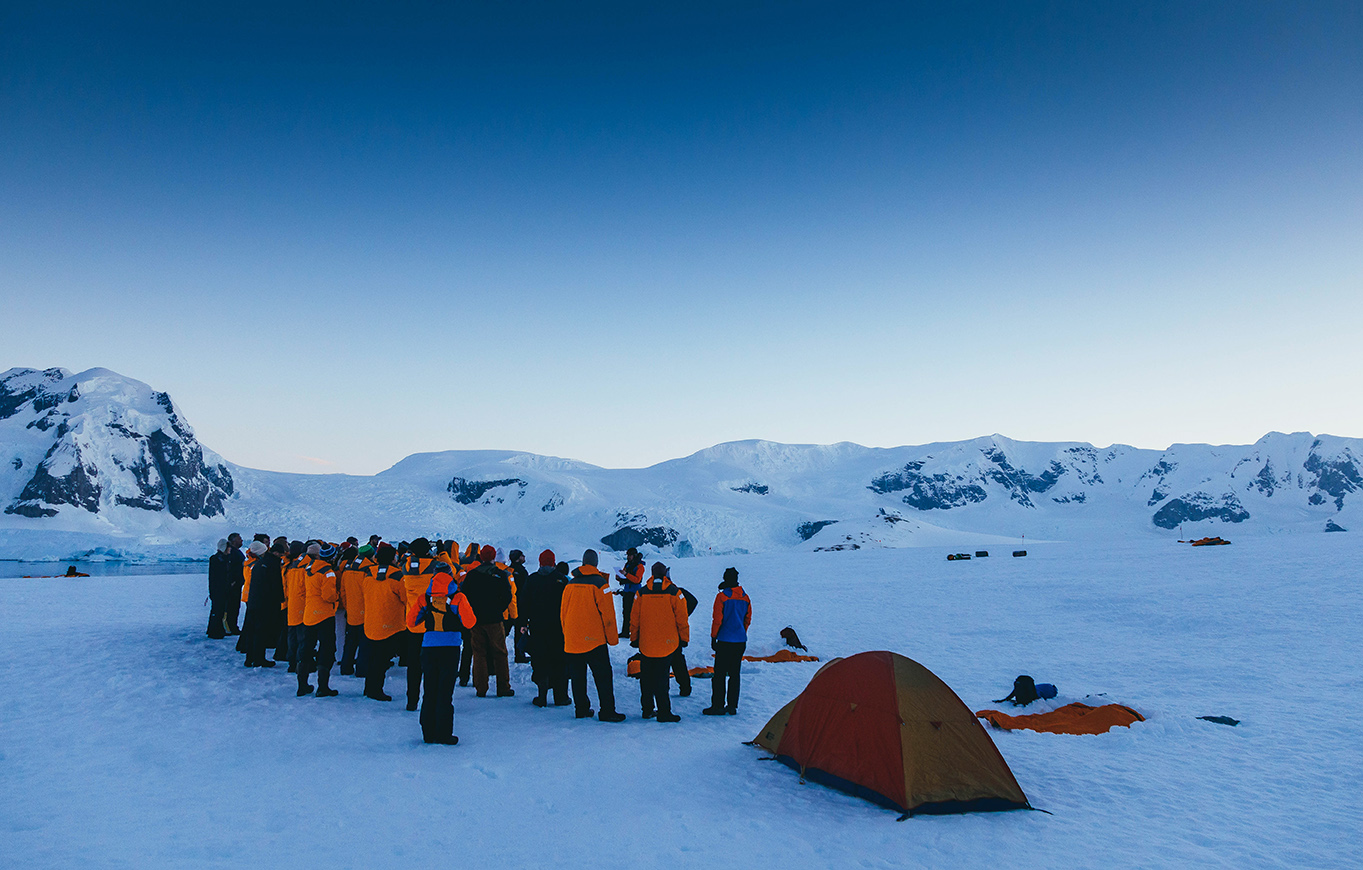 Overnight camping in Antarctica is a dream come true for many polar travelers.