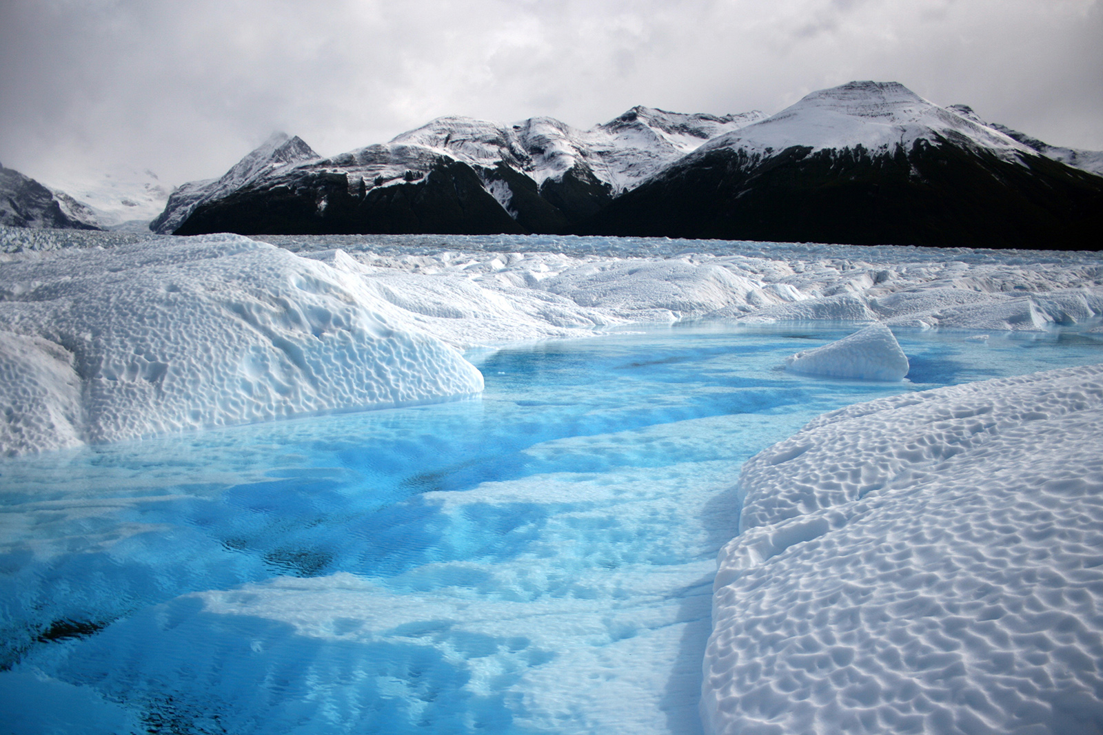 Glacier-viewing lures visitors to Patagonia just as much as wildlife-viewing opportunities