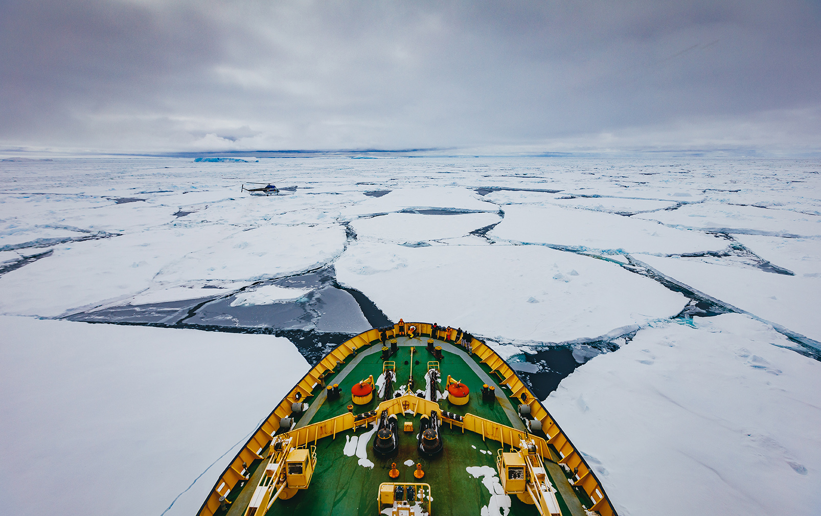 Quark Expeditions guests travel to Snow Hill Island on the legendary ice-breaker Kapitan Khlebnikov.
