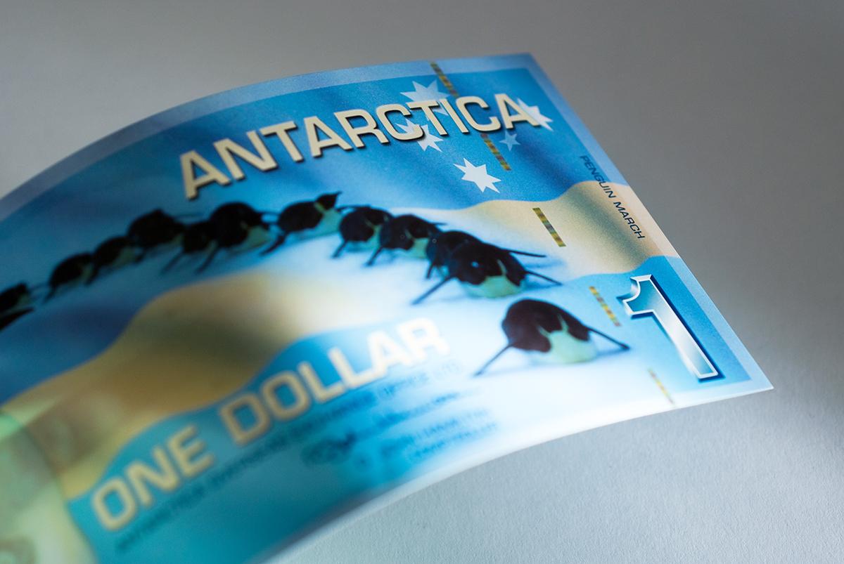 the Antarctic or Antarctica dollar.
