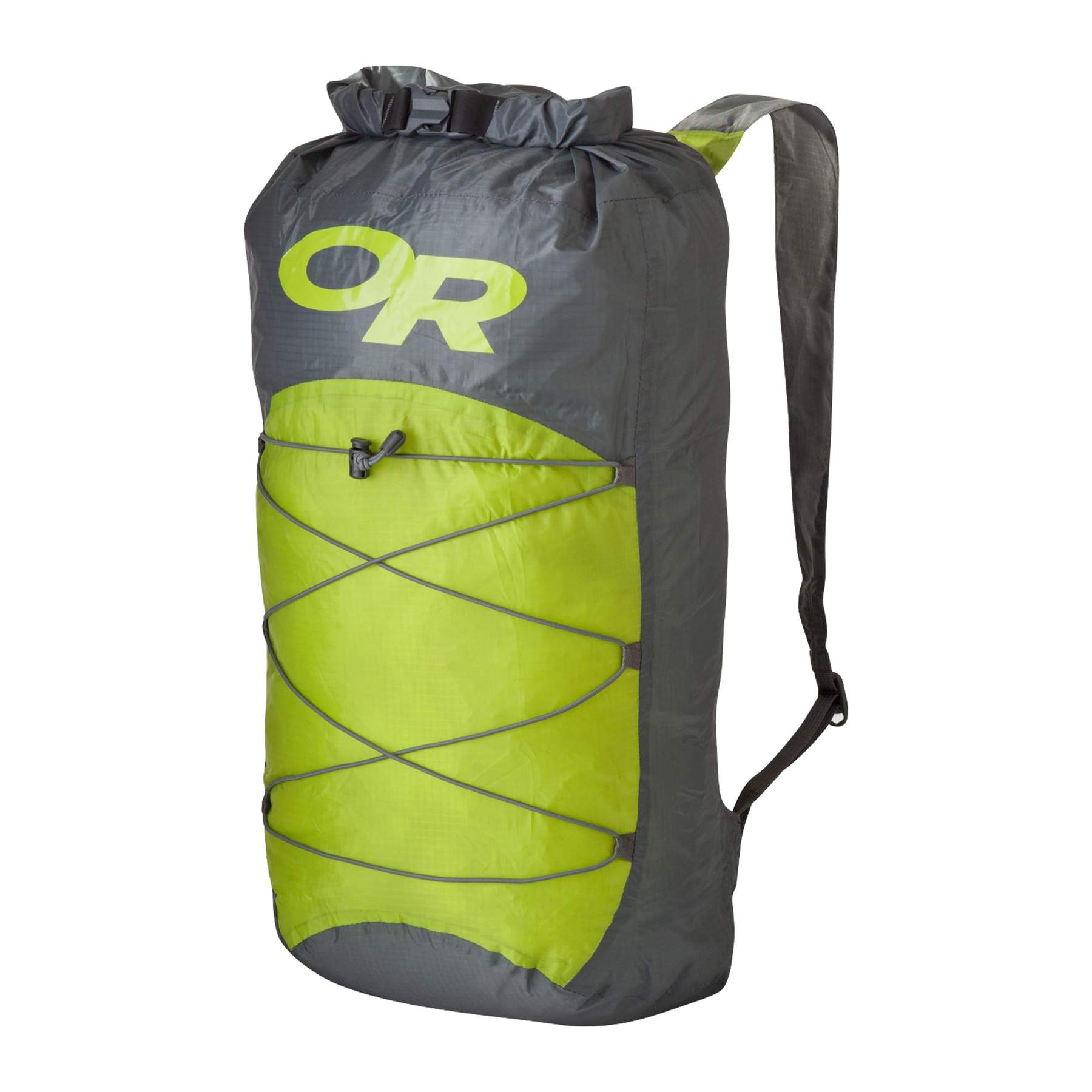 A weather-resistant day pack or dry pack for carrying extra camera equipment