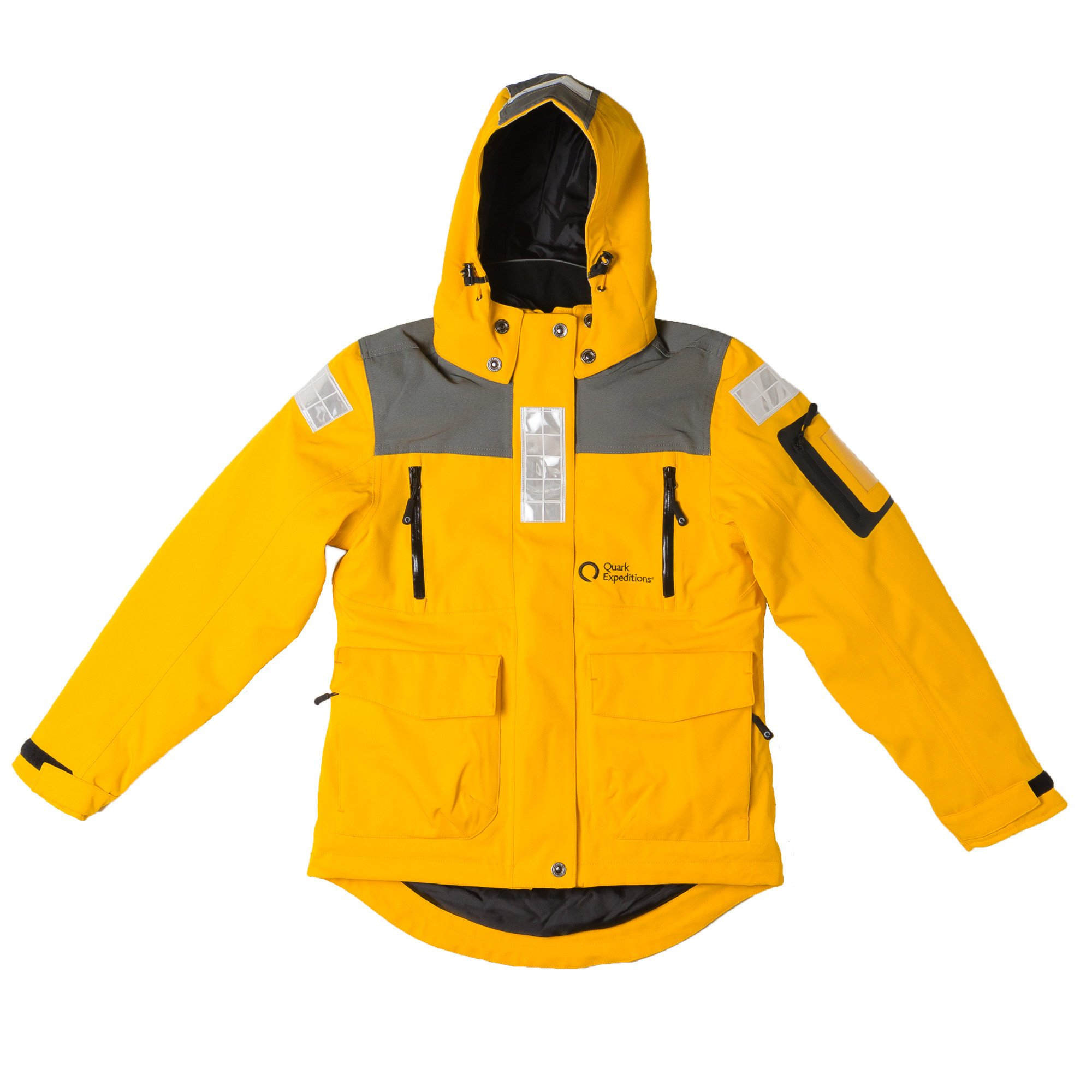 The complimentary Quark Parka is designed for all kinds of Arctic weather.
