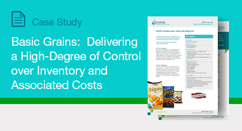 Basic Grains: Delivering a High-Degree of Control over Inventory and Associated Costs