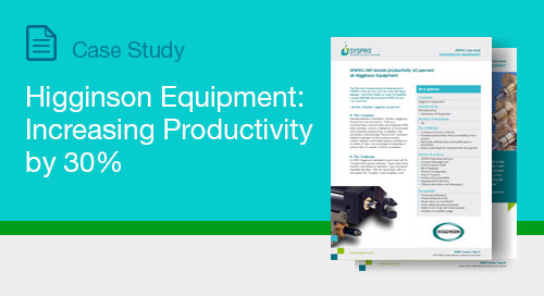 Higginson Equipment: Increasing Productivity by 30%