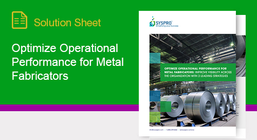 Discover strategies to improve visibility across metal fabrication businesses