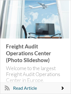 Freight Audit Operations Center (Photo Slideshow)