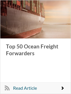 Top 50 Ocean Freight Forwarders