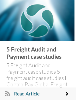 5 Freight Audit and Payment case studies