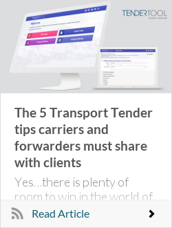 The 5 Transport Tender tips carriers and forwarders must share with clients
