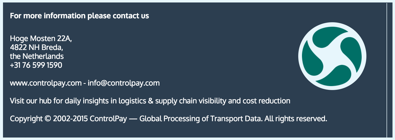 freight audit. About ControlPay