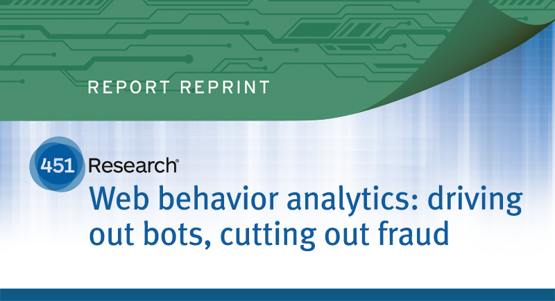 Web behavior analytics: driving out bots, cutting our fraud
