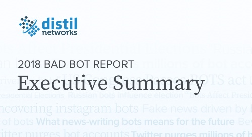 2018 Bot Report Executive Summary
