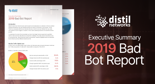 2019 Bot Report Executive Summary