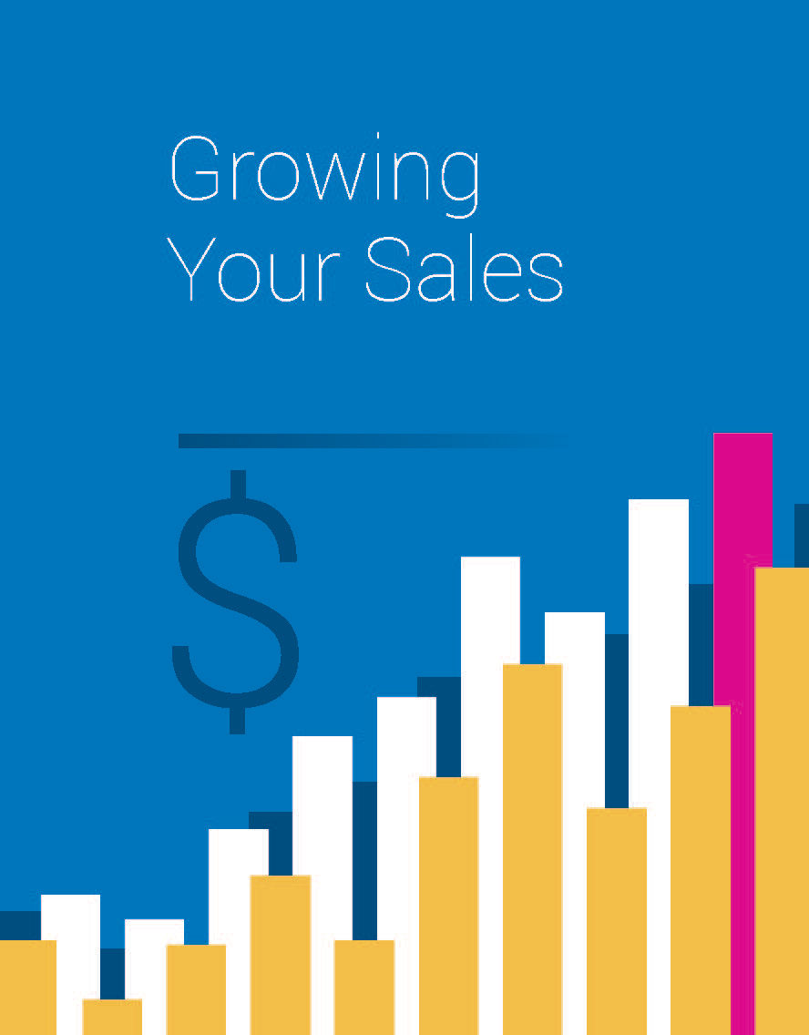 graphic representing Growing Your Sales