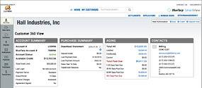 screenshot of Customer 360 View in SmartView