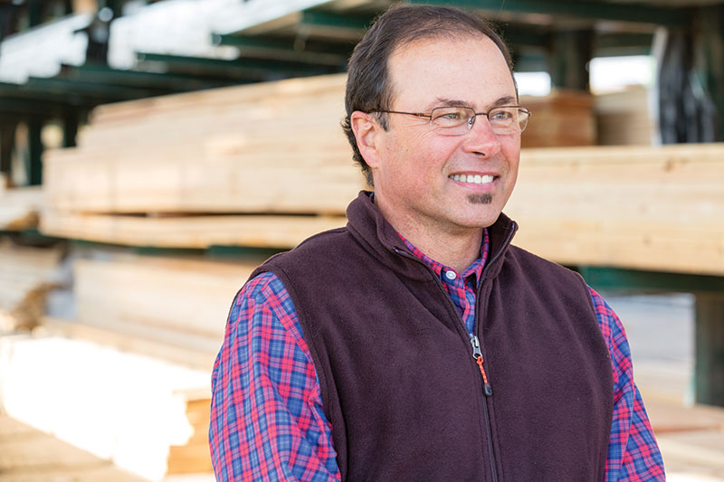 photo of Jimm Kalife, owner of Fairhaven Lumber