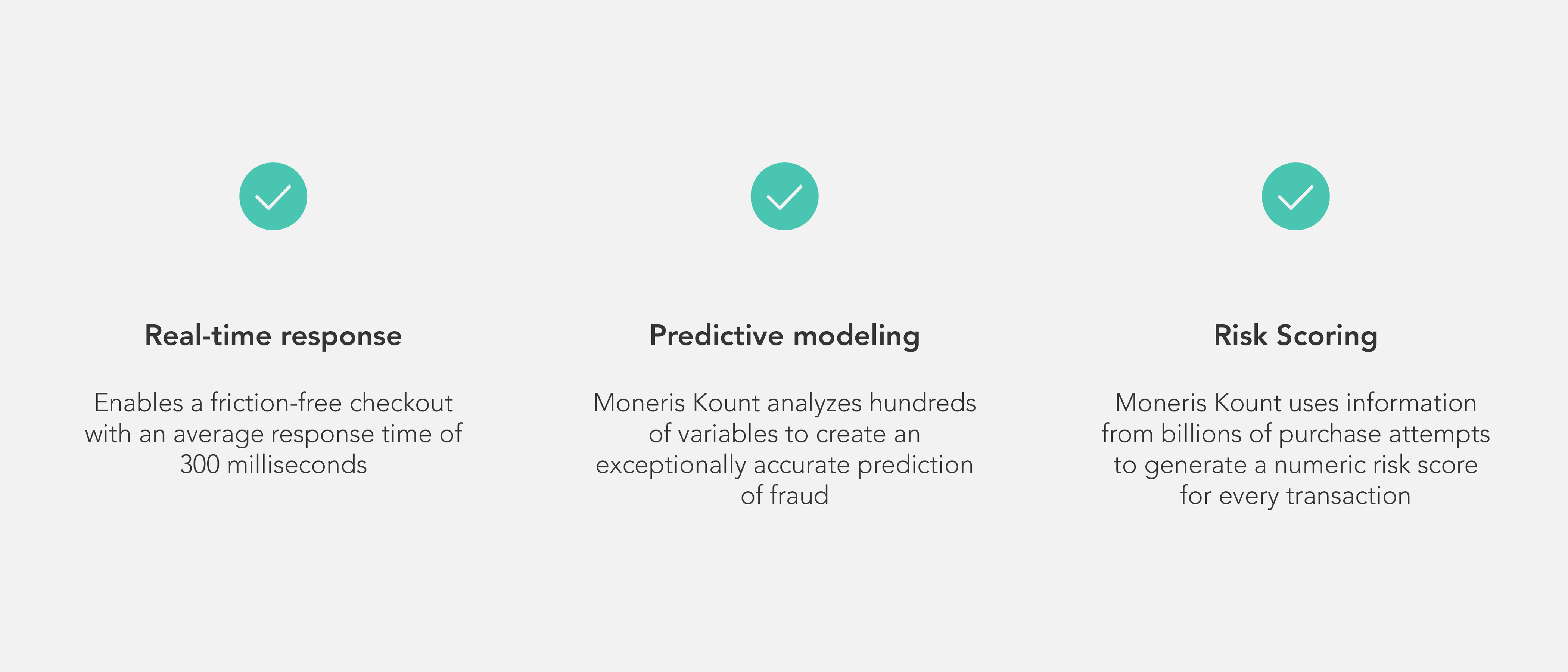 Take advantage of Kount Essential for your ecommerce with features like real-time response, predictive modeling, and risk scoring.