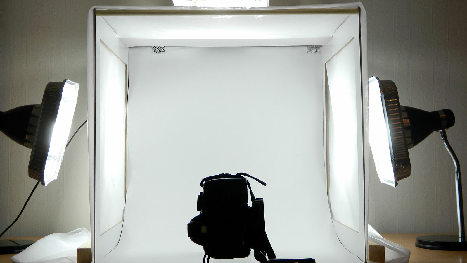 Set up your background for product shots