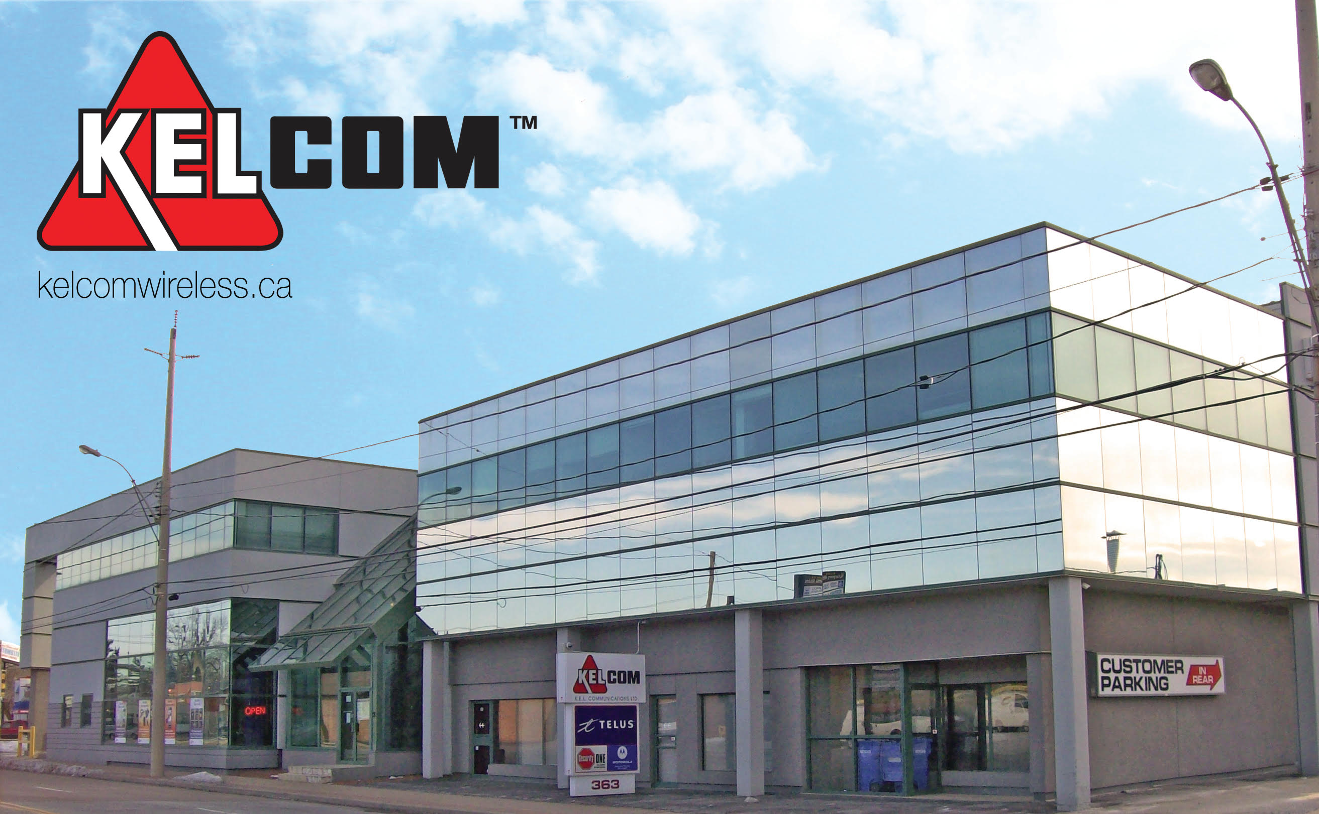 kelcom wireless store in windsor ontario canada, 363 eugenie street east, great telus mobility example