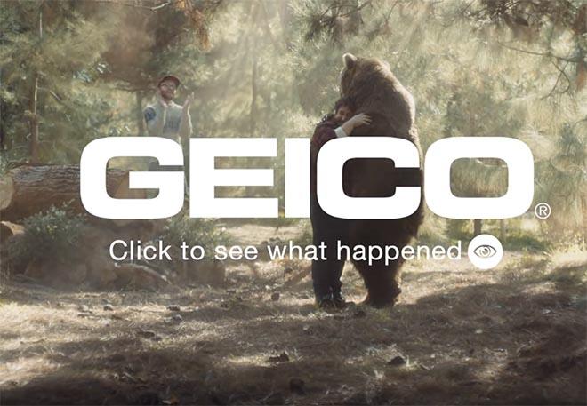 geico fast forward ads