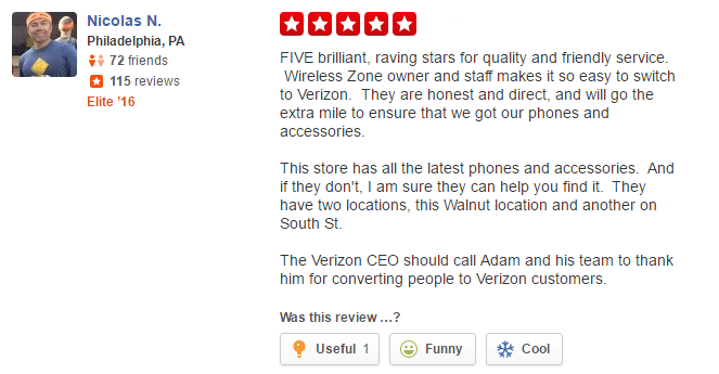 wireless zone verizon review