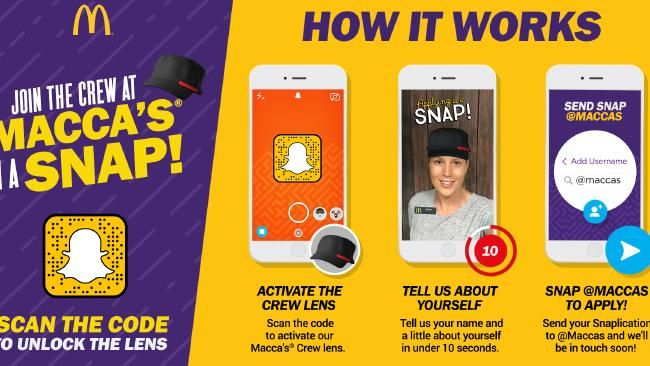 snapchat recruiting