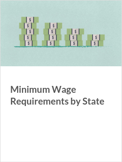 Minimum Wage Requirements by State