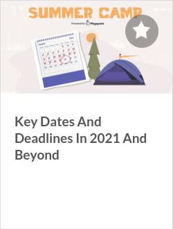 Key Dates And Deadlines In 2021 And Beyond