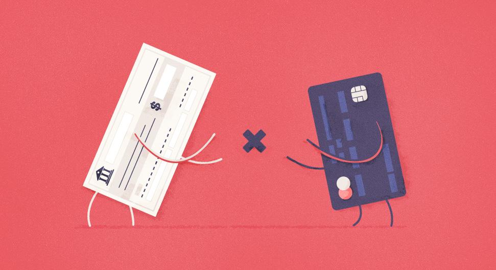 checks vs direct deposit