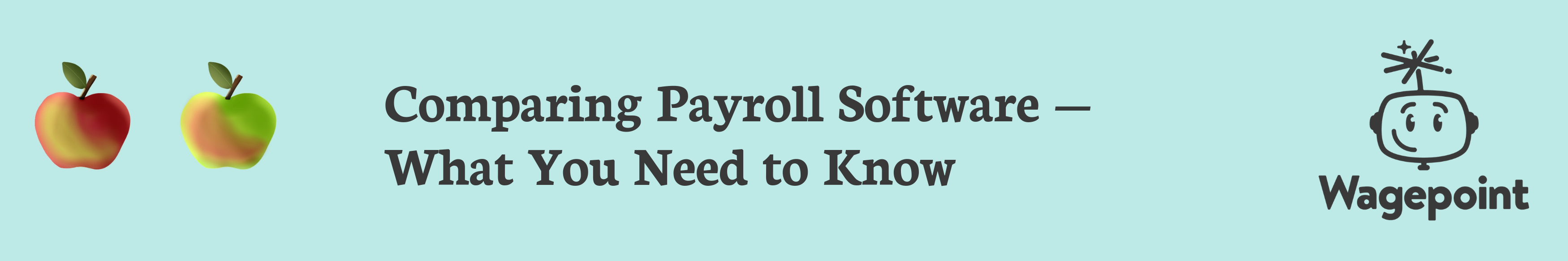 wagepoint small business payroll software comparing payroll banner