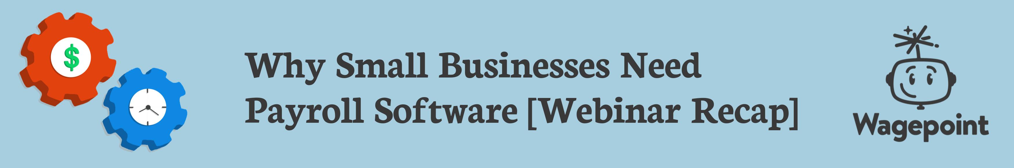 wagepoint payroll software webinar banner