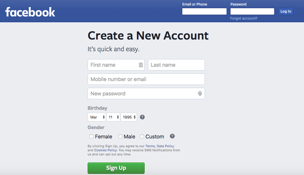 wagepoint social media learning facebook login page
