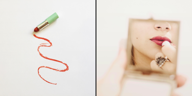 Différence entre les images des produits et celles des habitudes de vie