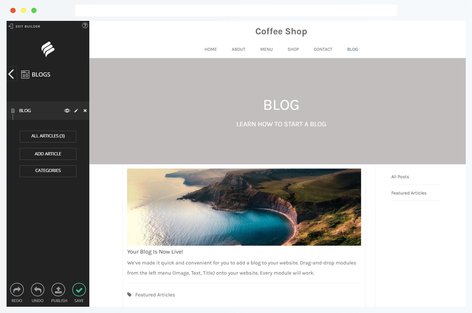 Distinguez-vous avec un blogue