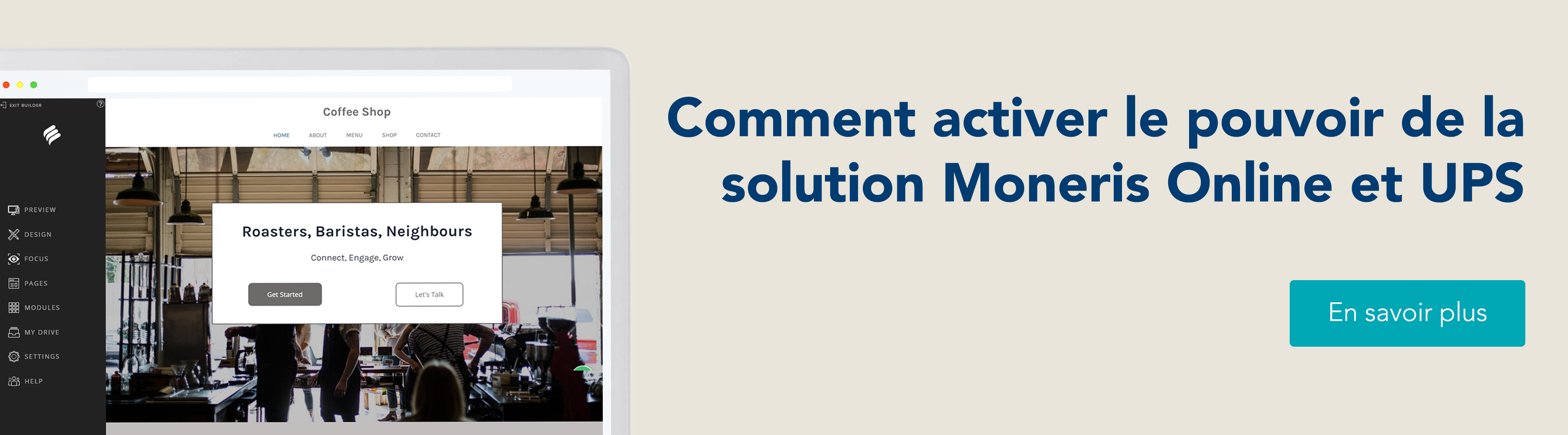 Commencer à vendre en ligne, ou comment activer le pouvoir de la solution Moneris Online