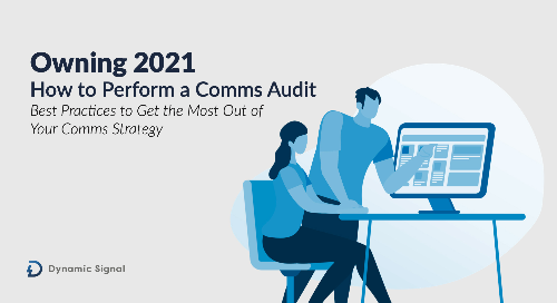 Owning 2021: How to Perform a Comms Audit