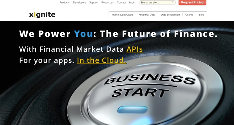Xignite market data cloud