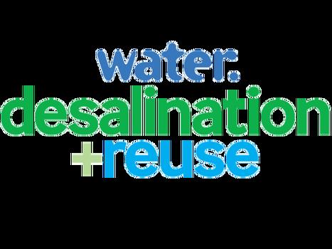 Water. desalination + reuse logo