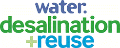 Water. desalination + reuse logo
