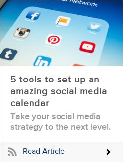 5 tools to set up an amazing social media calendar